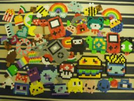 perler beads ALL by seadworp