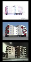 Architectural project 1 - Flat by A-Teivos