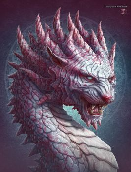 Tiger Dragon by kerembeyit