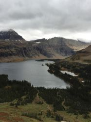 Moutains and a Lake by Billopo