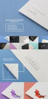 Logo Mockup Pack. Paper Edition by bulbfish-studio
