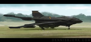 TC 133 Aerial Assault Vehicle by fruktsallad