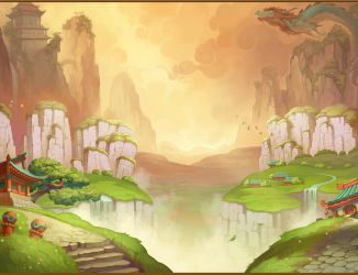 Background for slot game concept by NestStrix
