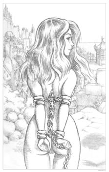 Lisa with a View of Calipolis by Grigbertz