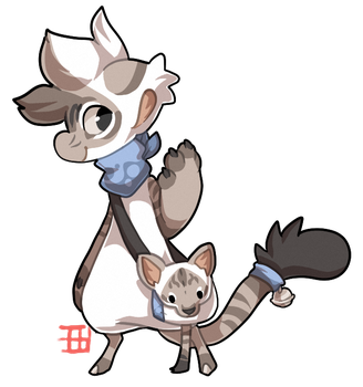 #692 Bagbean - Colorpoint shorthair cat by griffsnuff