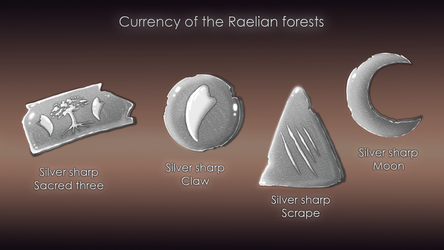 Currency of the Raelian forests by Tayarinne
