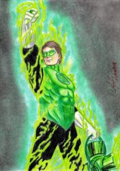 Green Lantern (comic version) by danielcamilo