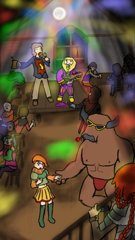 6-TavernParty by Flashkirby-99