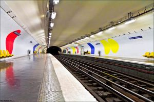 Station de Metro by Markotxe