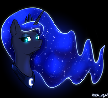 Princess Luna by KiraSunnight