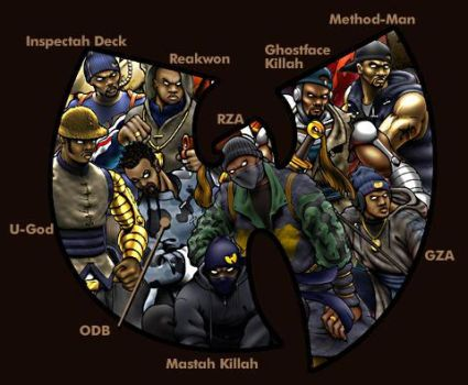 Wu-Tang Clan by NSO-Earthbender