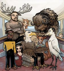 Animal Star Trek - The Next Generation by Devilry