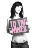 To The Nines - Sign Girl by gnarlyxowen
