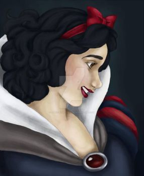 Snow White by away-with-the-fae