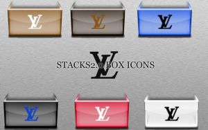 Louis Vuitton Stacks Icons by FreddyBOfficial