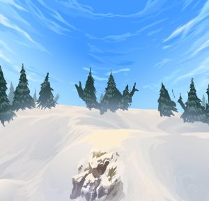 Snow background by llSwaggerll