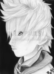 Roxas -REALISM by Maulsypaulsy