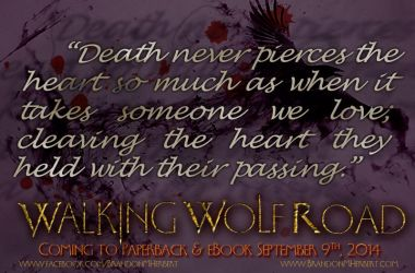 Walking Wolf Road - Death Quote by Neo-Moon