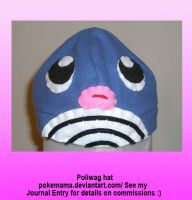 Poliwag hat by PokeMama