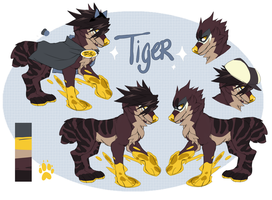 Tiger Ref by dammnashen