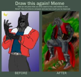 Draw this again meme 2009-2013 by Anxel-MDS