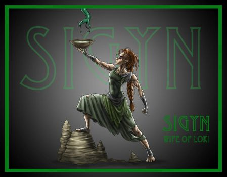 September - Sigyn by TheEndOfGrey