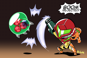 Samus smack by rongs1234