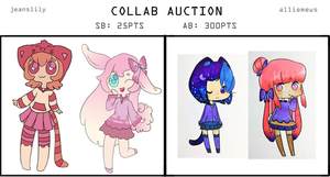 Collab Auction Adopts with Jeanslily! [CLOSED] by alliemews