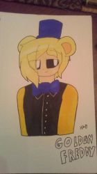 Human Golden Freddy  by ShadAmyfangirl129
