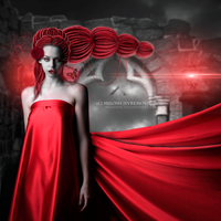 Red Silent by MiloshJevremovic