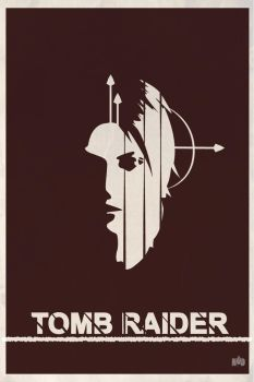 Tomb Raider Fanart Poster by MatijaDesign