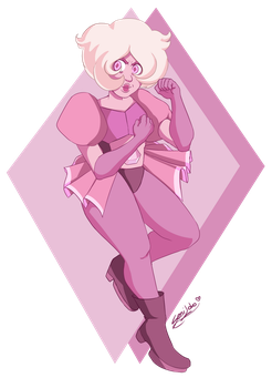 [Steven Universe] Pink Diamond (Cartoon version) by SeniLoko
