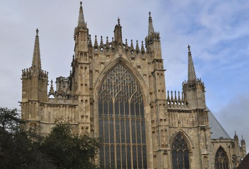 York Minster, East End by monophoto
