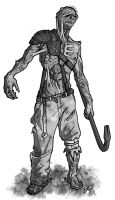 Fallout d20 - Ghoul by Tensen01