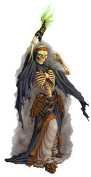 DS: Monsters - Lich by willowWISP