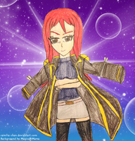 FT Girls in Boys' Outfits: Erza Scarlet by Camilia-Chan