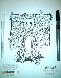 Inktober 14  by Mat Andre by MatAndre