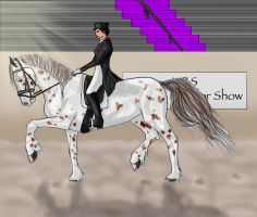 Dancing Diva by SilverBrooke-Stables