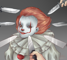 Pennywise the Smug Little Shit by ScruffyPoop