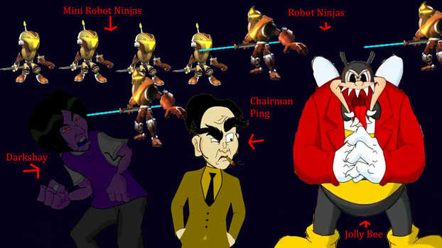 Chairman Ping and His Goons by TwistedDarkJustin