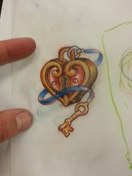 Heart lock (small) by BenFrazier