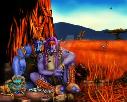 The Barrens : A story within many stories. by MinstrelofMyths