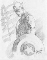 Captain America by guisadong-gulay