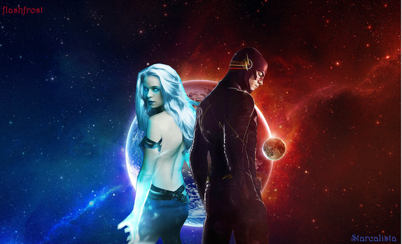 Flashfrost - Snowbarry by starcalista
