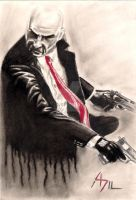 Agent 47 by PharmArtist