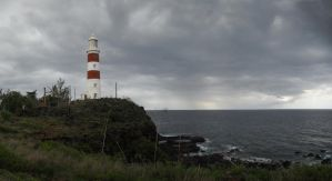 Pointe aux Caves Lighthouse by carrotmadman6