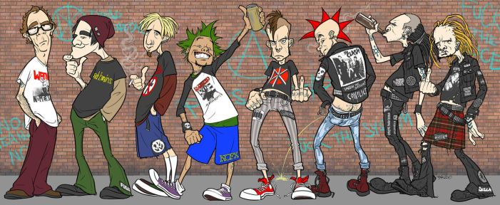 Punx by StraightEdge1977