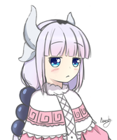 Kanna Kamui - Miss Kobayashi's Dragon Maid by AB-Anarchy