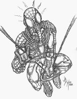 Steampunk Spidey by jdmacleod