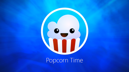 Popcorn Time wallpaper - 'Blue Space' by ChrisFR06